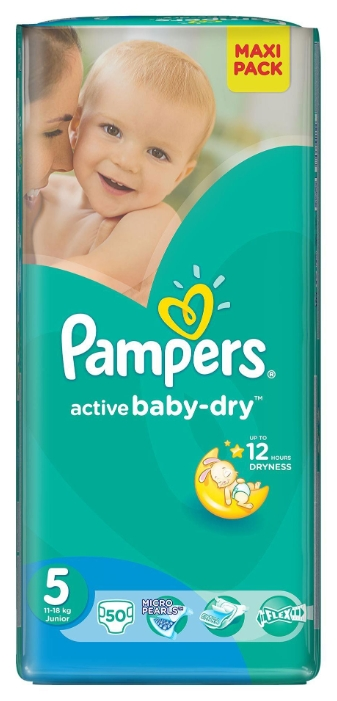2ba8382ecca7 Купить Подгузники PAMPERS Active Baby-Dry Junior 11-18кг унисекс Микро    Народный дискаунтер